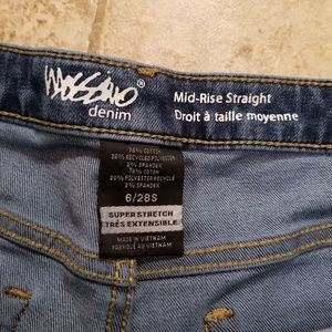Mossimo Supply Co. Jeans - Mossimo Good Cond. Mid Rise Stretch Straight Jeans